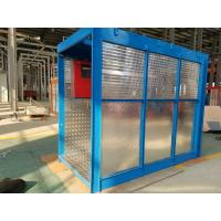 Quality 118kg Mast Construction Lifts, 8 Rack Modulus 54m Elevator for Airport Built - up wholesale
