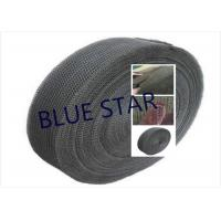 Quality Pure Titanium Filter Knitted Mesh 0.2 / 0.25mm Wire For Sea Water Desalination / Air Filter wholesale