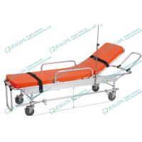 Quality Low frame wheeled stretcher , aluminum alloy paramedic stretcher with opening circles wholesale