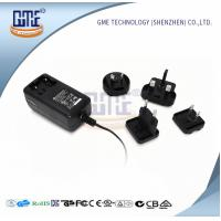 Quality Wall Mount AC DC Power Adapter 12v 2a With Interchangeable Plugs PSE UL GS Approved wholesale