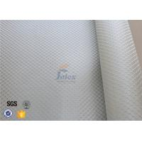 Quality 0.2MM Fire Resistant Silver Coated / Aluminized Coated Silver Coated Fabric wholesale