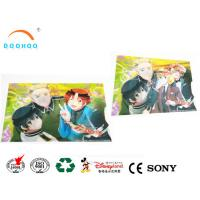 Quality Moving Change Effect Lenticular Printing Services Postcard Sticker wholesale