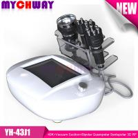 Quality Professional 40K+Vacuum Suction+Bipolar Quaropolar Sextupolar 3D RF Radio Frequency Slimming wholesale