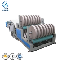China Kraft Paper Corrugated Board Production Line Toilet Paper Slitter Rewinder Machine on sale