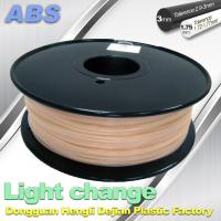 Quality ABS Light Change Color Changing Filament Stable In Performance wholesale