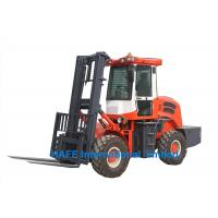 Quality 4x4 Driver All Terrain Forklift YUNNEI 4102 Engine For Urban Construction Sites wholesale
