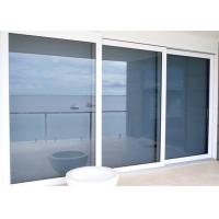 Quality Sliding Glass Commercial Aluminium Doors Powder Coated With Undisturbed Views wholesale