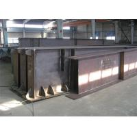 Quality Hot Rolled / Welded Galvanized Steel Beams H Section Steel Structure Girder Column wholesale