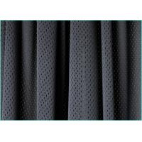 Quality Quick Drying Tricot DTY Lining Mesh Fabric for Athletic Clothing , Black Mesh Fabric Material wholesale