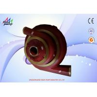 Buy cheap ZJ 80 - 36 Slurry Pump Parts Volute Liner Throatbush Frame Plate Liner Insert from wholesalers