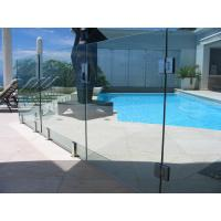 Quality Baby Guard Rail DIY Glass Pool Fencing With Tempered Glass Gate wholesale