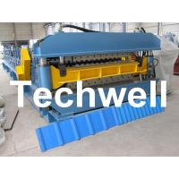Quality Double Layer Roof Wall Panel Cold Roll Forming Machine for Two Different Roof Panels wholesale