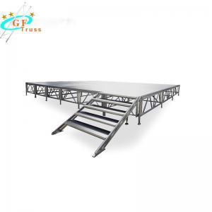 China Folding Light Weight Aluminum Stage Platform 1.22*1.22M on sale