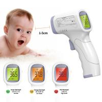 Quality Medical Grade Non Contact Infrared Thermometer With Data Retention Function wholesale