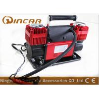 Quality New 150PSI 12 V Car Air Compressor Double 60mm Cylinder 300L/ Min Air Flow wholesale