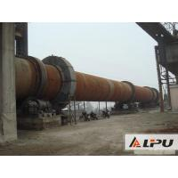 Quality Simple Structure And Little Noise Rotary Kiln With Speed 0.23 - 2.26r/min wholesale