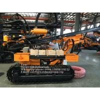 Quality Portable Crawler Drilling Rig Machine Rotary Drilling Rig For Water Well wholesale