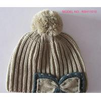 Quality Womens Knit Pom Pom Beanie wholesale
