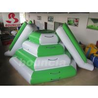 Quality 2.7m High Inflatabale Water Climbing Slide With Durable Nylon Rope wholesale