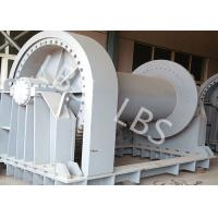 Quality Shipyard Low Noise Heavy Industry Windlass Winch With Smooth Drum wholesale