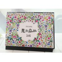Quality Custom Design Paper Calender Book Printing Services For Office / Home Furniture Accessories wholesale