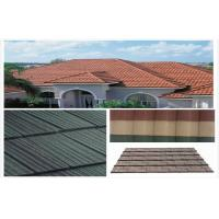 Environmental Stone Coated Metal Roofing Tile , spanish architecture roof tiles
