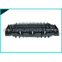 Quality Mid - Plate Fusion Splicing Fiber Optic Closure 72 Core ABS Housing wholesale