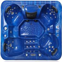 Quality Outdoor Hot Massage Tub 4 Person With Bluetooth , Wifi , Music Speakers wholesale