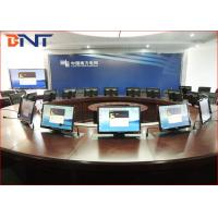 China Commercial Meeting Table Motorized Pop Up Lift For 19 - 24 Inch LCD Screen on sale