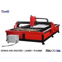 Quality Red Color Plasma Metal Cutting Machine with 2000 mm x 3000 mm Working Size wholesale