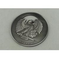 China 2.5 '' Zinc Alloy 3D Personalized Coins , Antique Nickel Plating on sale