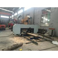 Quality electric powered logs saw large size horizontal bandsaw machine for widely used wholesale