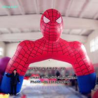Quality 5m Inflatable Spidernan Arch with Blower for Outdoor Advertisement or Decoration for sale