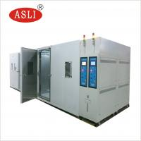 Quality Walk - In Climate Rigid Test Chamer Rooms Simulated High Or Low Temparature And Humidity Testing wholesale