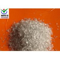China Angular Shaped Recycled Glass Blasting Media , White Recycled Glass Sand on sale