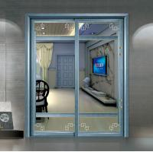 Quality Residential Aluminium Sliding Patio Doors / Sliding Glass Interior Doors Frosted wholesale