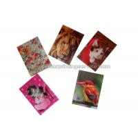 Quality Small Size Adhesive 3D Lenticular Stickers PET/ PP Printing For Key Chain wholesale