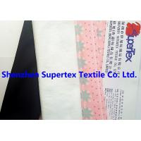 Quality 320GSM Elastic Stretch Fabric Knit Polyester Suede Printed 147CM Garment Fabric wholesale