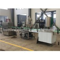 Quality Milk / Juice / Coconut Water Canning Machine / Beverage Can Filling Machine wholesale