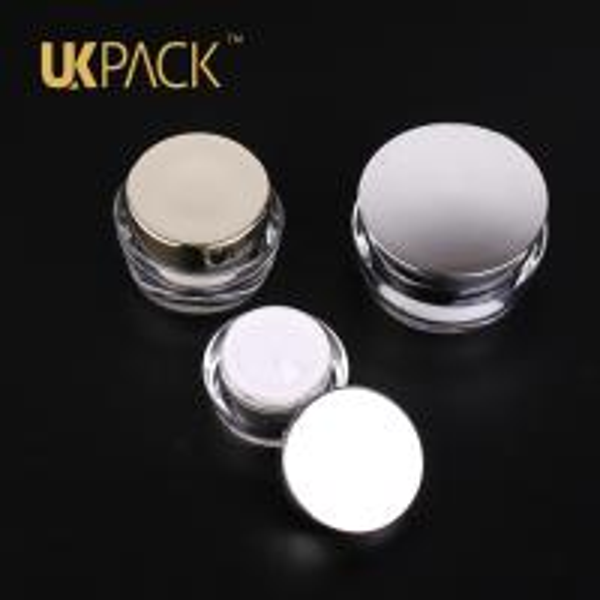 Quality-Assured 15ml 30ml 50ml Acrylic CreamJar ,Customize capacity cosmetic cream jar