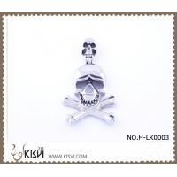 Quality Hot sell 316 Stainless Steel Death's-Head Pendant H-LK0003 wholesale