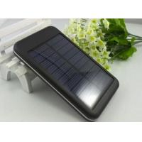 China Laptops 5000mAh Portable Solar Battery Charger with LED light on sale