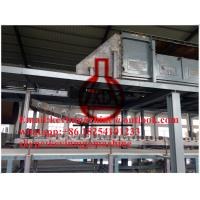China 2 - 60mm Thickness Magnesium Oxide Board Production Line for External Wall Panel Insulation on sale