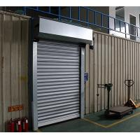 China Electric Roller Garage Doors 304 Stainless Steel Frame Closing Speed 0.2m/s on sale
