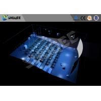 Quality Hydraulic 4D Cinema 5D 6D 7D  Imax Movie Theater Equipment With Dynamic Seats wholesale