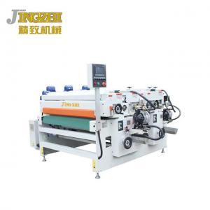 China Thick Fiber Board Wood Coating Machine Surface Paint Finishing  PLC Microcomputer Control on sale