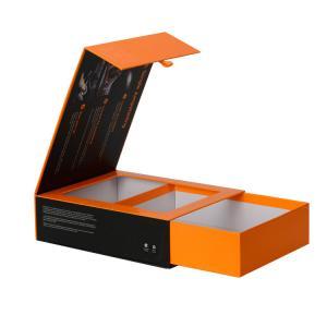 China Custom Luxury Matt Lamination Cardboard Box For Car Electronics With Magnet Closer on sale