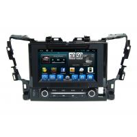 Quality 9 Inch Car Multimedia Toyota Gps Navigation System For Alphard wholesale