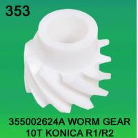 Quality 355002624A / 3550 02624A WORM GEAR TEETH-10 FOR KONICA R1,R2 minilab wholesale