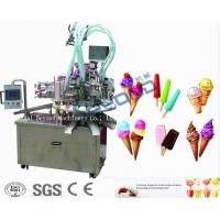 Quality Continuous Freezing Ice Cream Production Equipment 220V / 380V Low Consumption wholesale